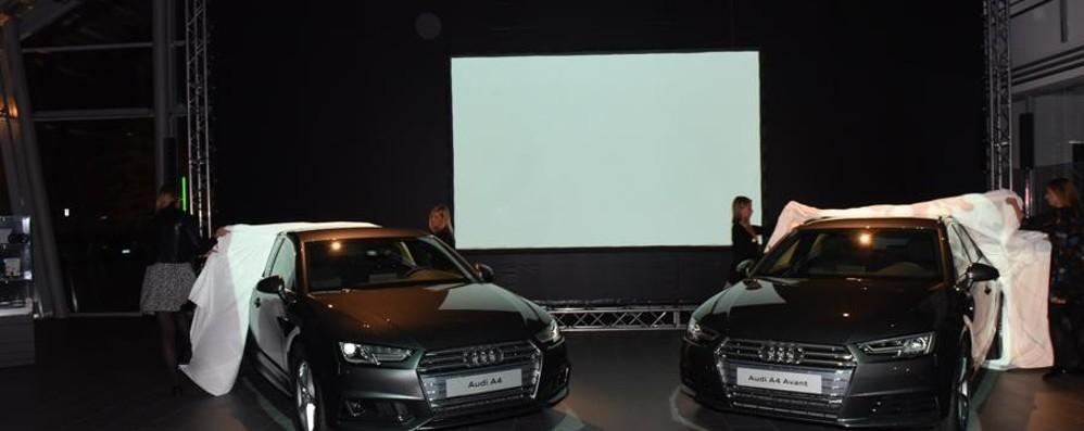 Evento futuristico per le nuove Audi A4
