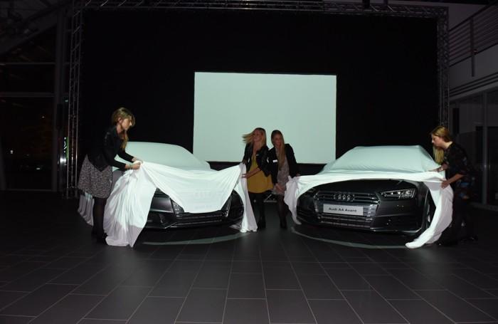 La presentazione delle nuove Audi A4 da Bonaldi