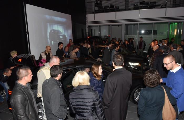 La concessionaria Bonaldi affollata per l'evento