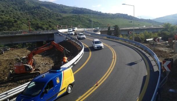 Inaugurata la bretella sull'A19