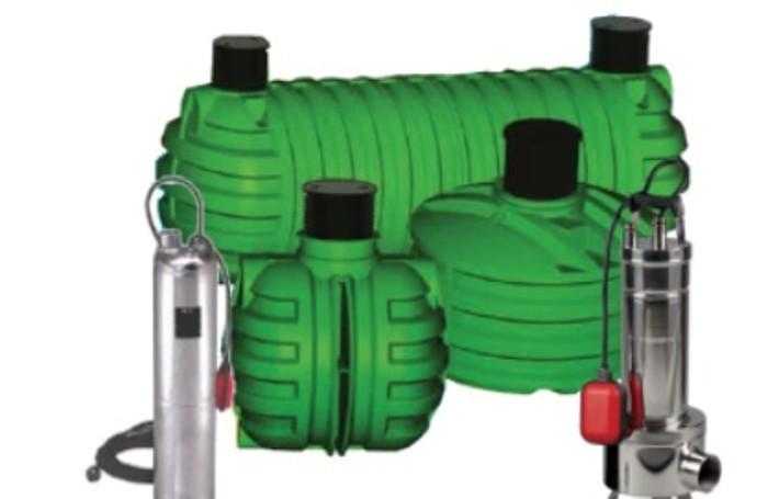 Uno dei modelli Majitekno messi a punto per il recupero dell'acqua