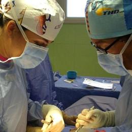 Diretta mondiale dalla sala operatoria L'ospedale Treviglio online in 16 Paesi