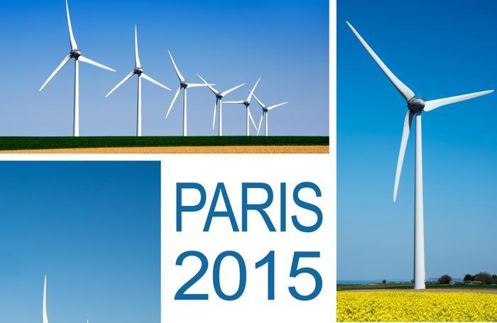Il logo della Conferenza Cop21 di Parigi 2015