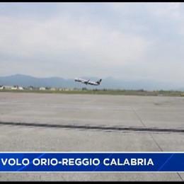 Orio, nuovi voli per Reggio Calabria e Stoccarda