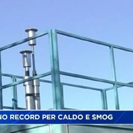 Autunno record per caldo e smog