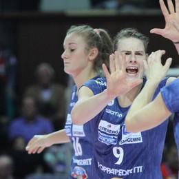 Il grande volley è tornato a Bergamo