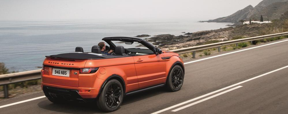 Range Rover Evoque diventa anche cabrio
