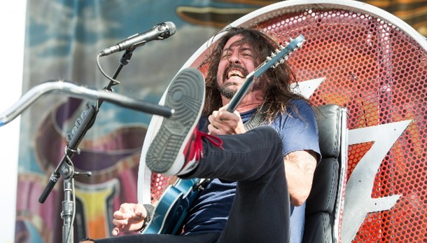 Foo Fighters aprono il tour a Cesena
