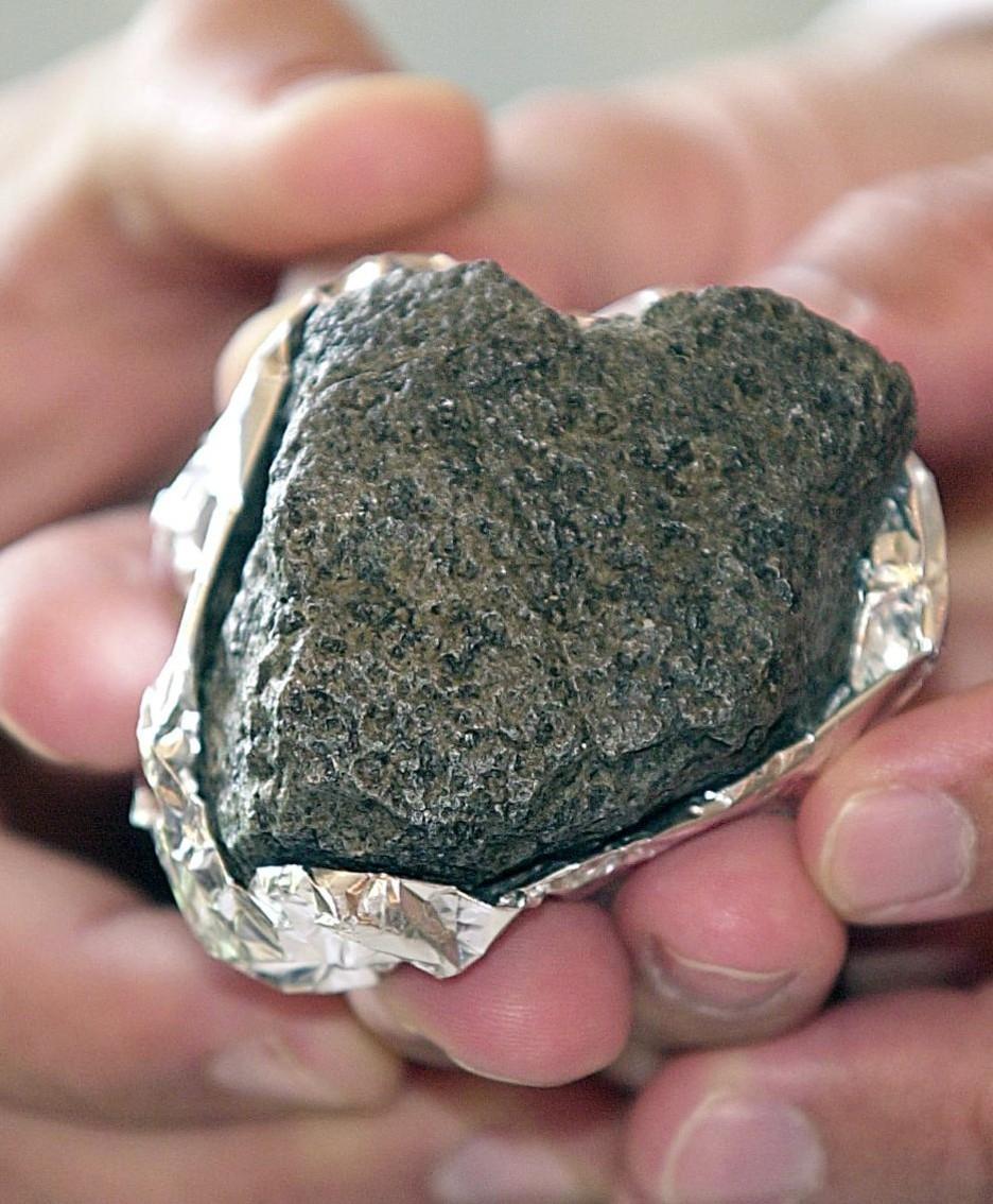 Un piccolo meteorite