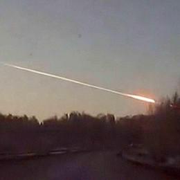 Grosso meteorite fra la Bassa e Milano Chi l'ha visto domenica alle 22,30?