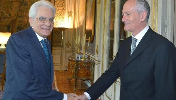 Roma: Mattarella riceve Gabrielli