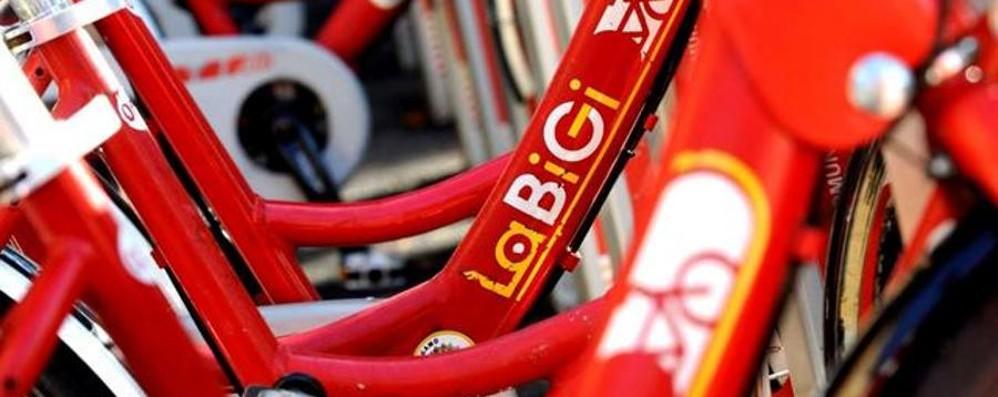 Bike sharing fuori uso nella mattinata Servizio ok dal primo pomeriggio
