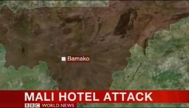 Mali, 170 ostaggi all'hotel Radisson