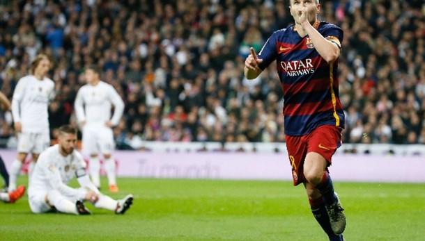 Liga: il Barcellona travolge il Real