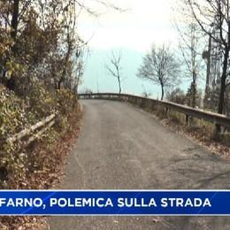 Monte Farno, è polemica sulla manutenzione della strada