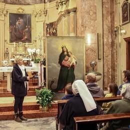Gli studenti diventano restauratori La prima tela alla Madonna del Bosco