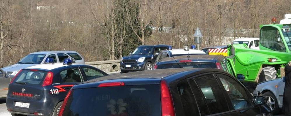 L'odissea da Romano ad Ardesio Per 60 km anche due ore in auto
