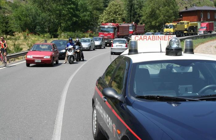 Traffico in Valle Seriana