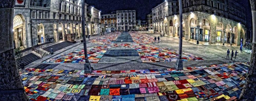 Da Bergamo fino a Brescia Lana e solidarietà per le donne