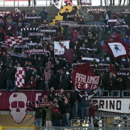 I tifosi del Torino a Bergamo