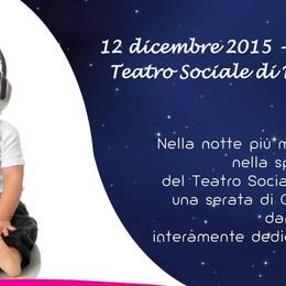 Notte di musica al Teatro Sociale Per Santa Lucia serata con l'Unicef