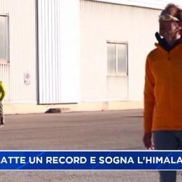 Nuovo record per Simone Moro, sognando il Nanga Parbat
