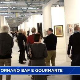 Sabato via a Bergamo Arte Fiera e GourMarte