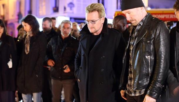 U2 a dicembre a Parigi, città non muore
