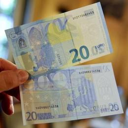 Ecco la nuova banconota da 20 euro Sarà in circolazione da mercoledì