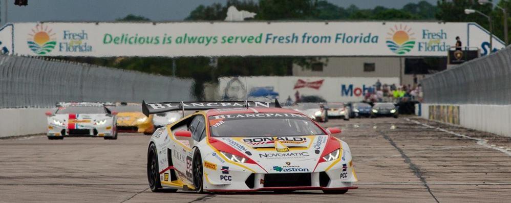 Bonaldi Motorsport sul tetto del mondo Il 19enne Kujala  trionfa in Lamborghini