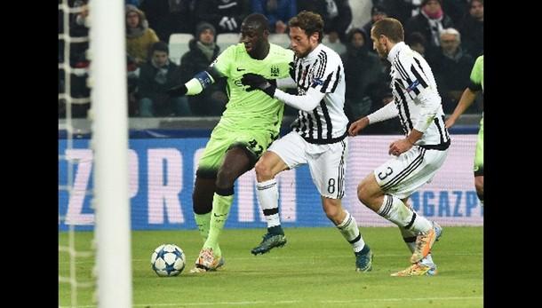 Champions: 1-0 al City, Juve agli ottavi