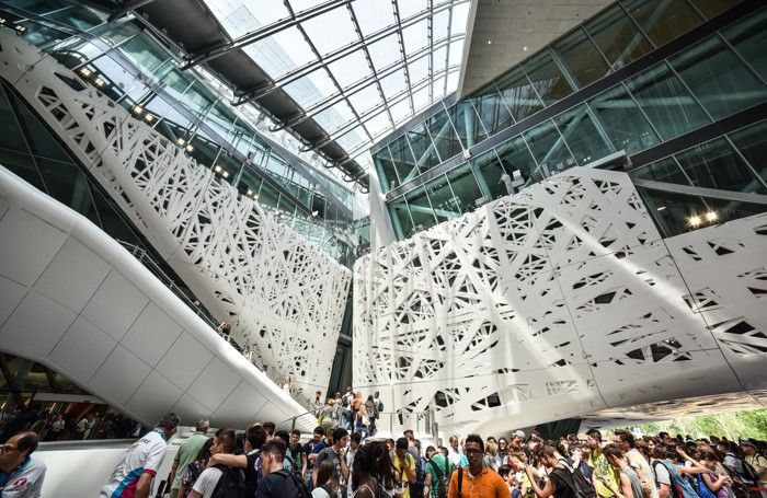 Palazzo Italia all'Expo