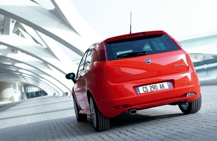 La Fiat Punto, al secondo posto