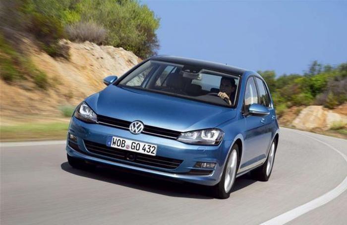 Al terzo posto la Volkswagen Golf