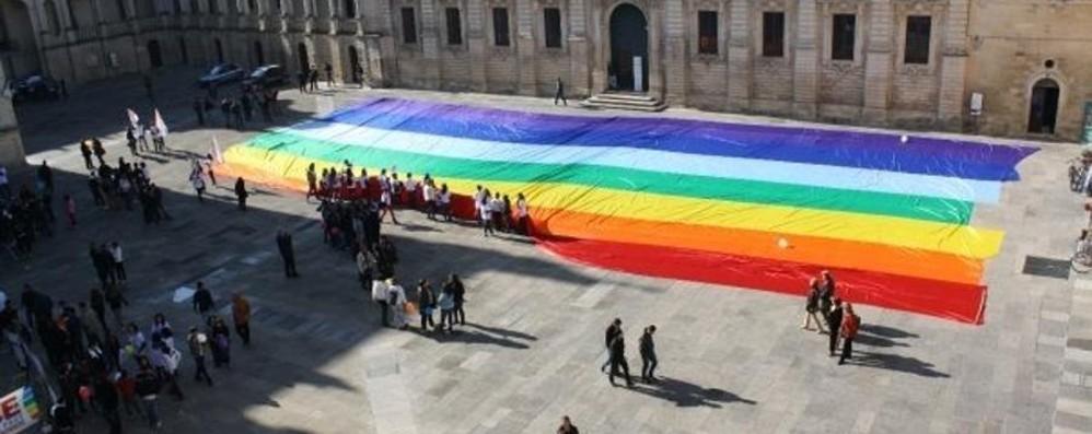 Ecco la bandiera della pace più grande  Ora è stata dedicata a Valeria