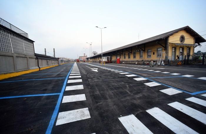 Nuovo parcheggio alla stazione