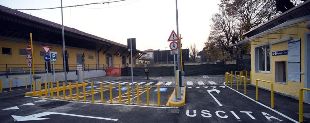 Nuovo parcheggio alla stazione Apre a dicembre, primi 15' gratis