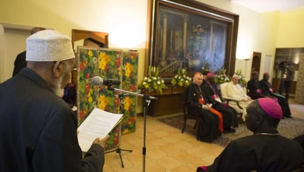 Papa: mai Dio a giustificazione violenza