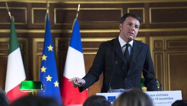 Renzi, coalizione ampia contro Isis