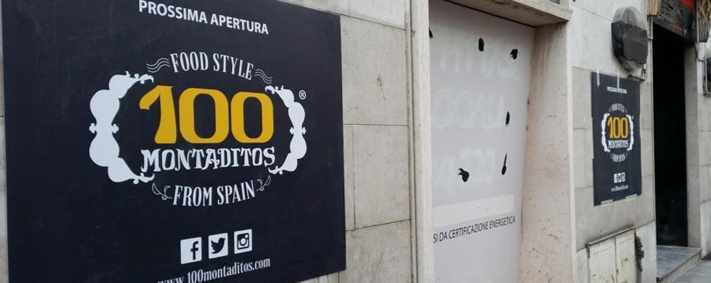 Voglia di Spagna in Porta Nuova A breve apre «100 Montaditos»