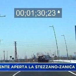 Finalmente aperta la Stezzano-Zanica