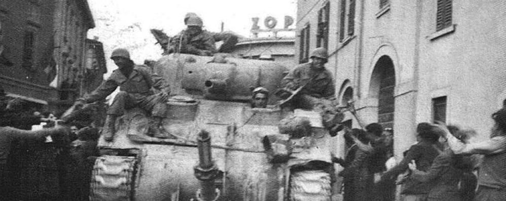 Il carro armato in via Broseta nel '45 Finiva la guerra e la paura svaniva
