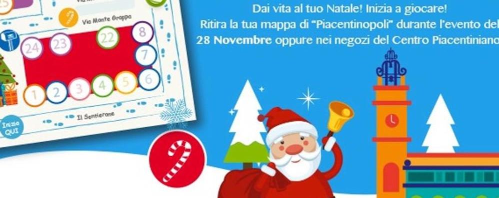 Si accendono le luci del Sentierone Il Centro Piacentiniano festeggia il Natale