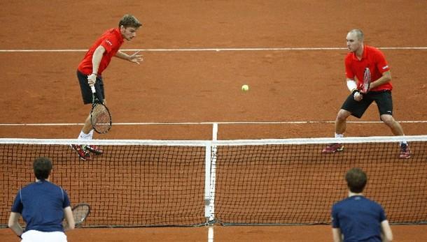 Tennis: Davis, Belgio-Gb 1-2 dopo doppio