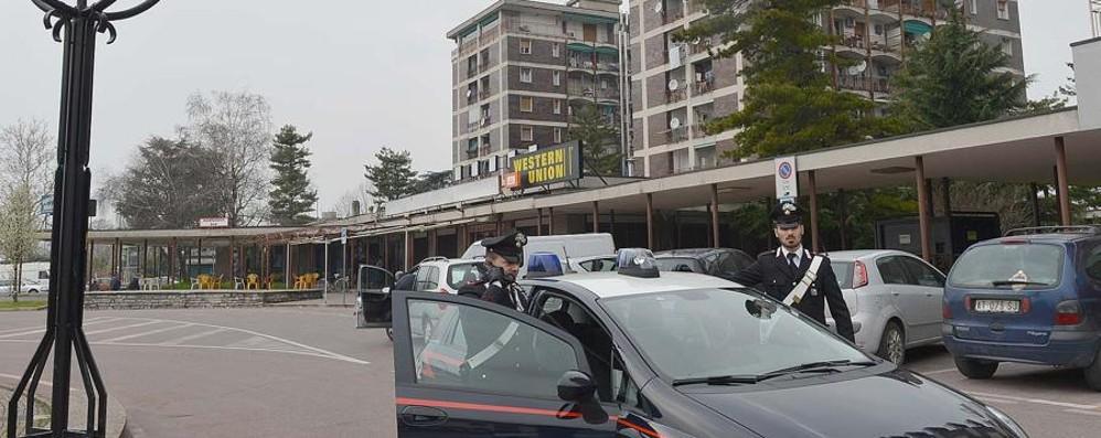 Zingonia, più vigilanza in piazza Affari Arriva l'Unità mobile dei carabinieri