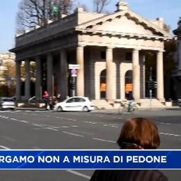 Alt! Bergamo non è a misura di pedone