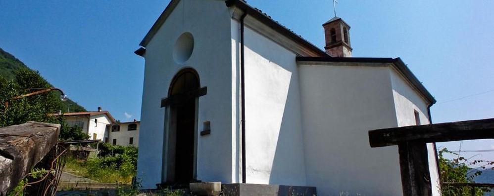Frana minaccia la chiesetta di Endine Appello per salvare l'edificio del 1500