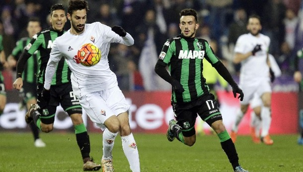 Serie A: Sassuolo-Fiorentina 1-1