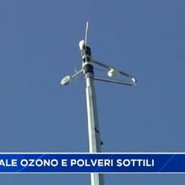 Smog, a Bergamo male ozono e polveri sottili