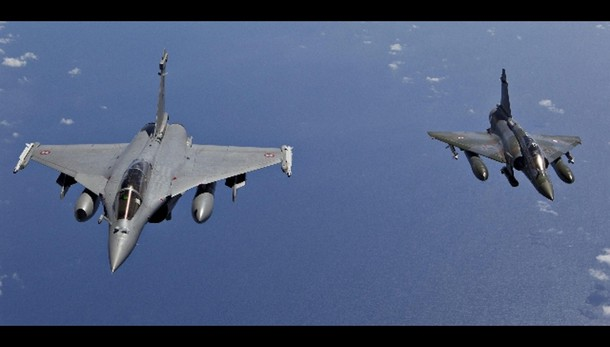 Spazio aereo turco a Francia per raid